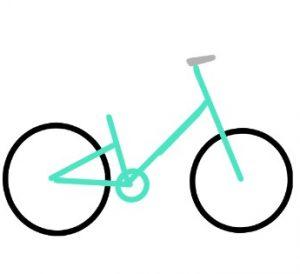 19年の最高 自転車 簡単 イラスト かわいい無料イラスト素材